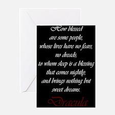 Dracula Greeting Cards