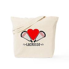 Lacrosse Love Tote Bag