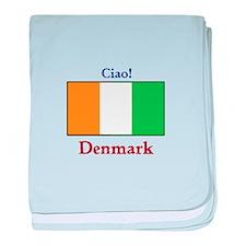 Ciao! Denmark baby blanket