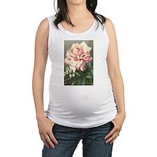 VICTORIAN ROSE Maternity Tank Top