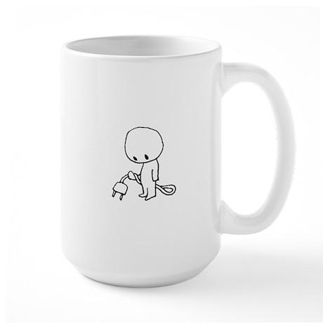 Plug Large Mug