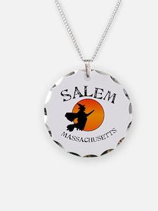 Salem Massachusetts Witch Necklace