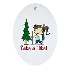 Take a Hike Ornament (Oval)