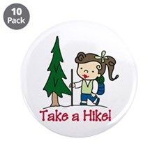 """Take a Hike 3.5"""" Button (10 pack)"""