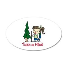 Take a Hike Wall Decal