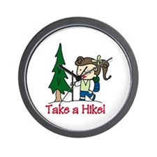 Take a Hike Wall Clock
