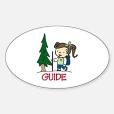 Guide Girl Decal