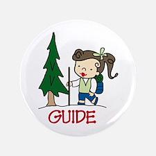 """Guide Girl 3.5"""" Button"""