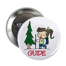 """Guide Girl 2.25"""" Button (10 pack)"""