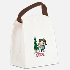 Guide Girl Canvas Lunch Bag