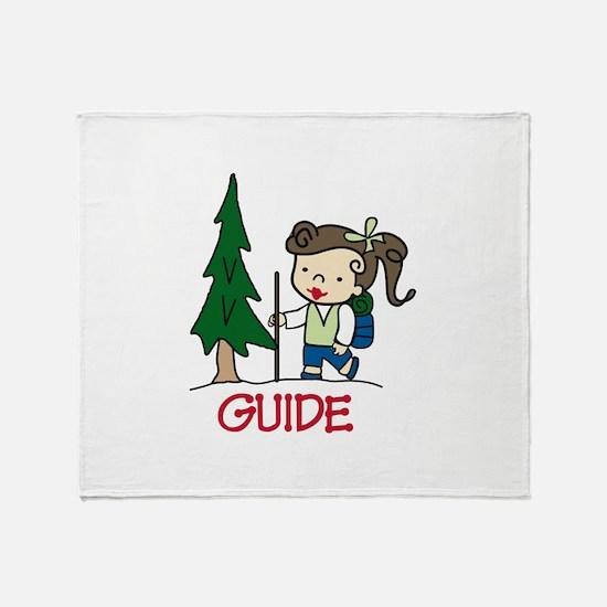 Guide Girl Throw Blanket