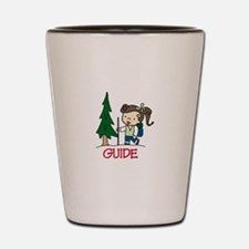 Guide Girl Shot Glass