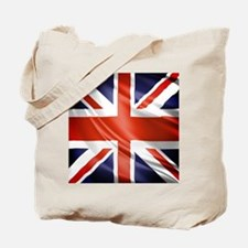 Artistic Union Jack Tote Bag