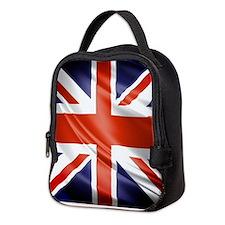 Artistic Union Jack Neoprene Lunch Bag