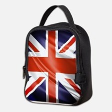 Artistic Union Jack Neoprene Lunch Bag