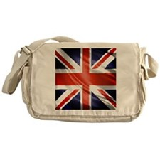Artistic Union Jack Messenger Bag