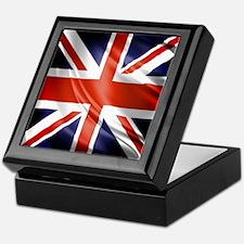 Artistic Union Jack Keepsake Box