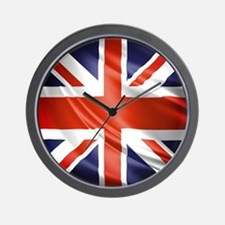Artistic Union Jack Wall Clock
