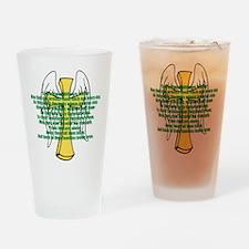 Prayer Drinking Glass