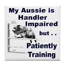 Aussie Agility Tile Coaster
