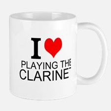I Love Playing The Clarinet Mugs