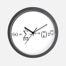 Cool Polyamory Wall Clock