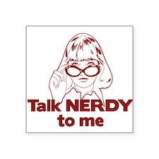 nerdy copy Sticker