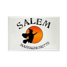 Salem Massachusetts Witch Rectangle Magnet Magnets