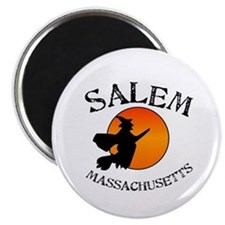Salem Massachusetts Witch Magnet