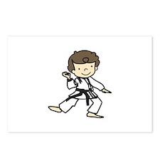 Karate Boy Postcards (Package of 8)