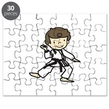 Karate Boy Puzzle