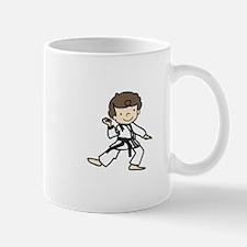 Karate Boy Mugs