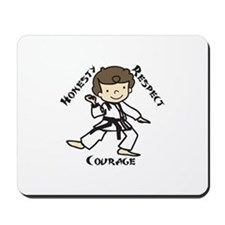 Honesty Respect Courage Mousepad