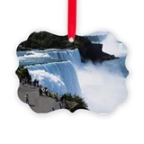 Niagra falls Picture Frame Ornaments