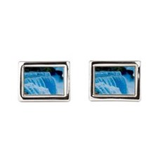 Niagra Falls Rectangular Cufflinks