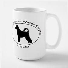 PORTUGUESE WATER DOG Large Mug