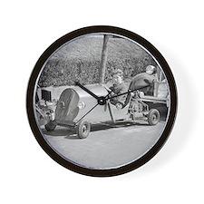 Funny Karting Wall Clock