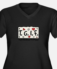 Thank Goodness It's Friday! Plus Size T-Shirt
