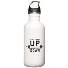 Lift things up put them down Water Bottle