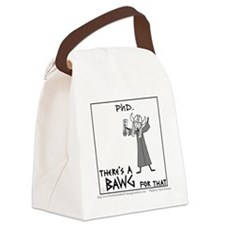 PhD. Canvas Lunch Bag