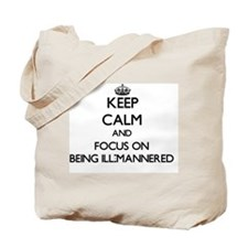 Cute Well mannered Tote Bag