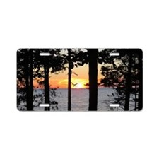 Lake Superior Aluminum License Plate