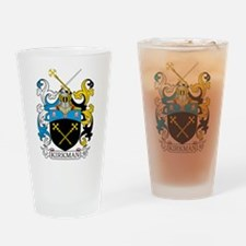 Kirkman Family Crest Drinking Glass