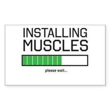 Installing muscles Decal