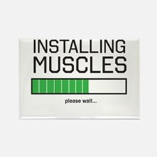 Installing muscles Magnets