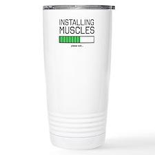 Installing muscles Travel Mug