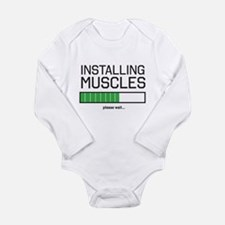 Installing muscles Body Suit
