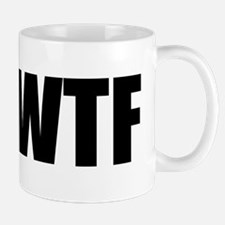 Hashtag WTF #WTF Small Small Mug