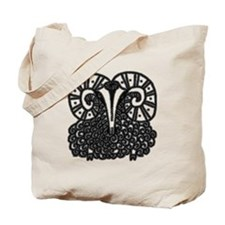 Chinese Year of The Ram Tote Bag