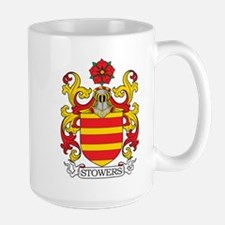 Stowers Family Crest Mugs